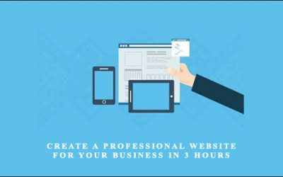Create A Professional Website For Your Business In 3 Hours