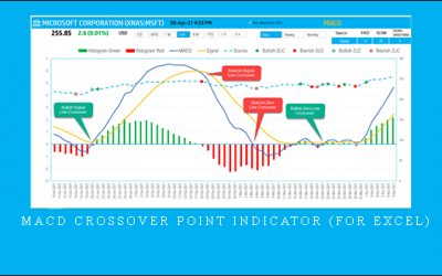 MACD Crossover Point Indicator (For Excel)